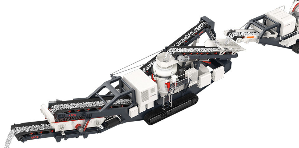 Mobile Crushing Station Line