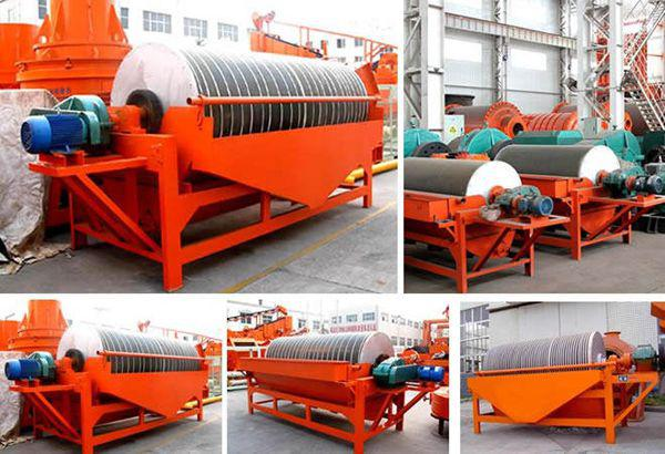 Magnetic separator in the factory