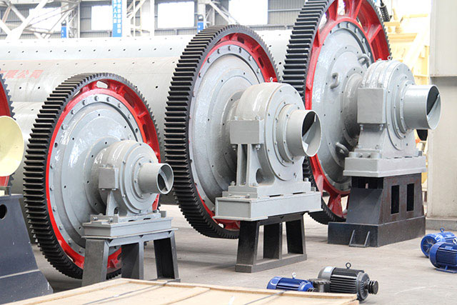 The structure of dry ball mill