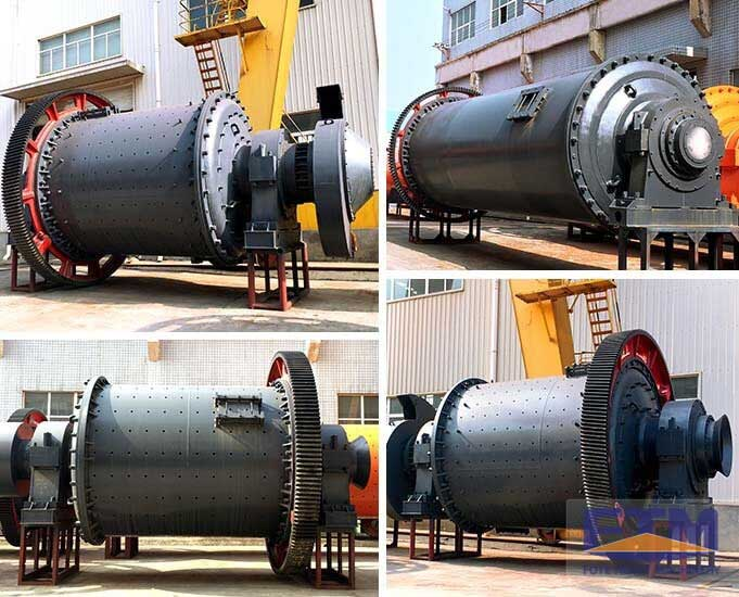 Detailed parts of ball mill