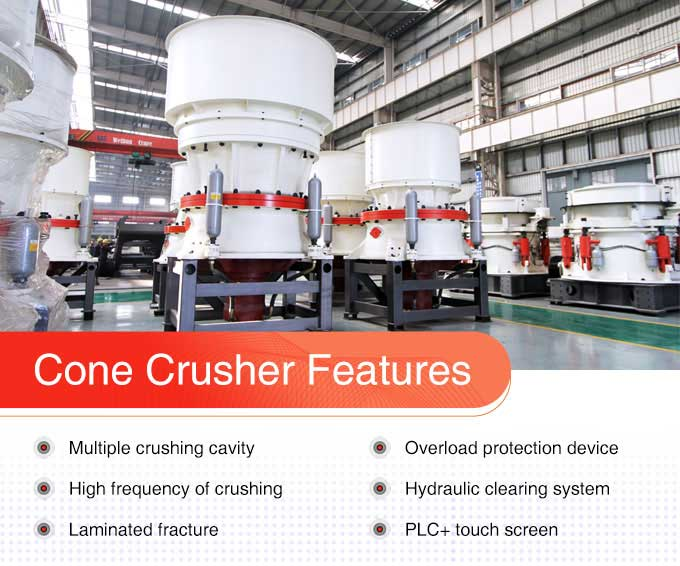 Advantages of cone crusher
