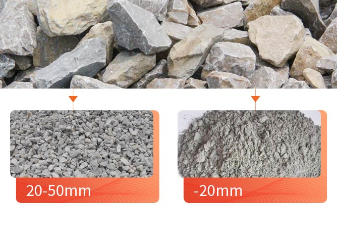 The classification of finished limestone