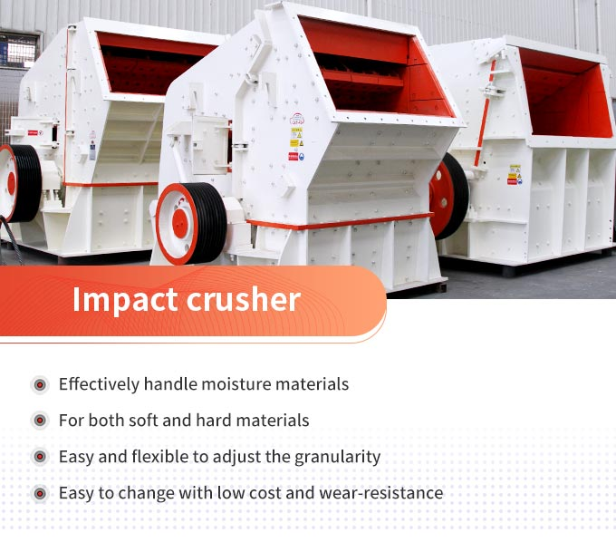 Impact crusher advantages