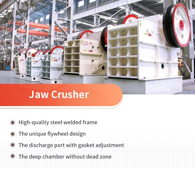 Jaw crusher advantages