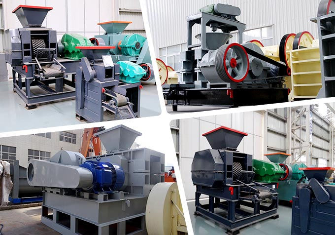 The charcoal briquette machines