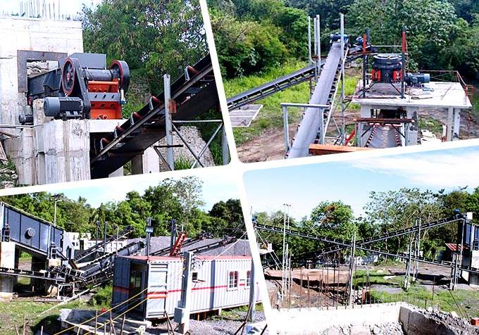 Jaw crusher in the Philippines