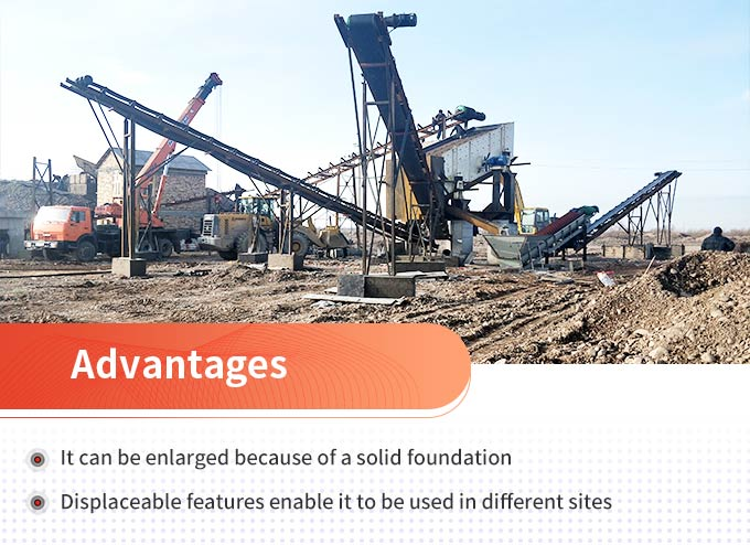 Advantages of semi-fixed stone crusher machines