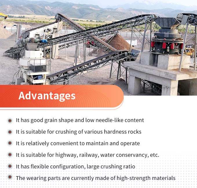 Advantages of fixed stone crusher machines