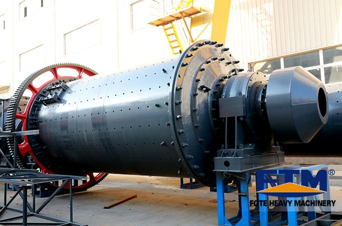 The main grinding equipment-ball mill