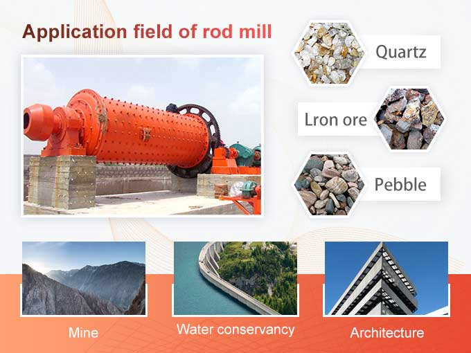 Applications of rod mill