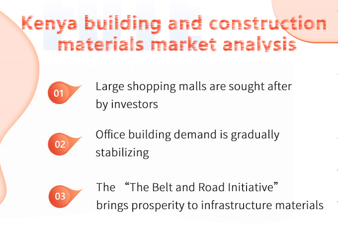 The construction projects in Kenya