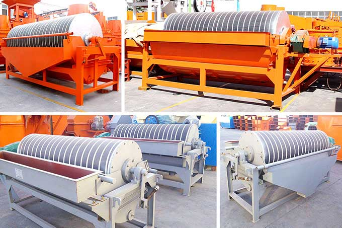 Different types of magnetic separator