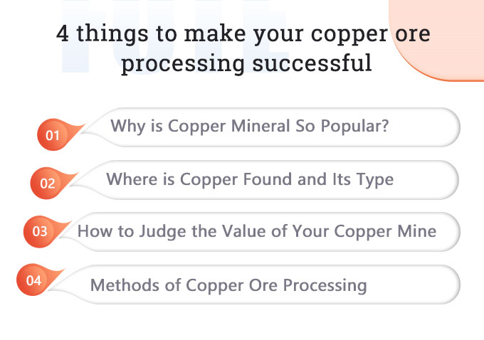4 Things to Make Your Copper Ore Processing Successful