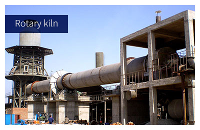 Rotary kiln used for LECA sintering-expanded process