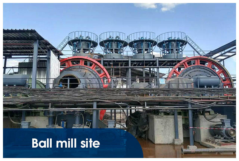 ball mill site