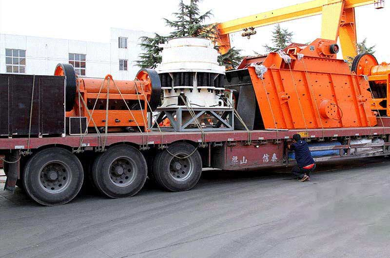 Cone crusher delivery site