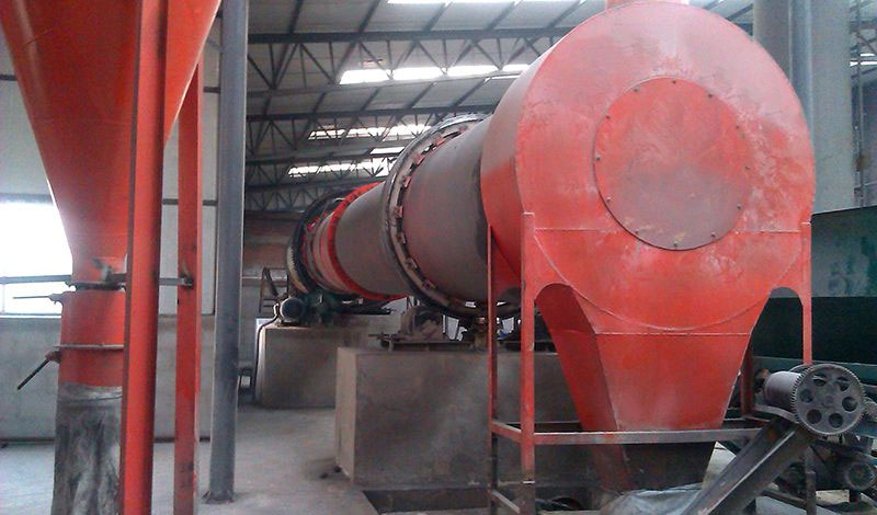 Installation and trial run of sawdust dryer