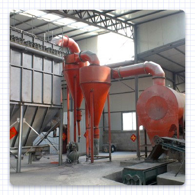 The separator of the industrial dryer
