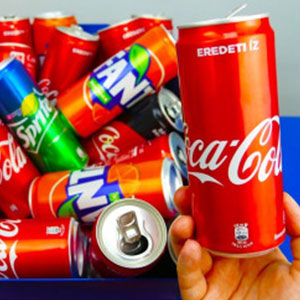 people use aluminum to make soda cans