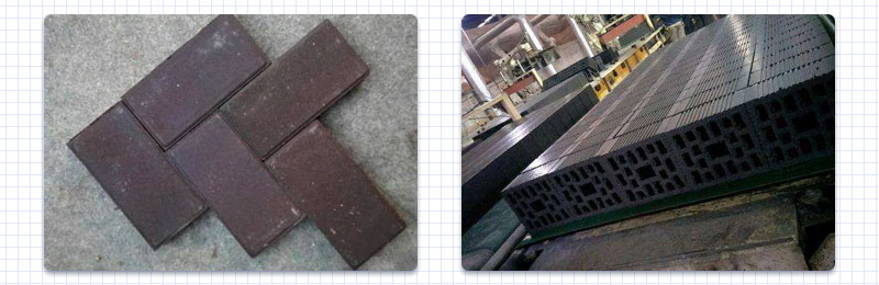 Raw materials to produce all kinds of bricks and tiles