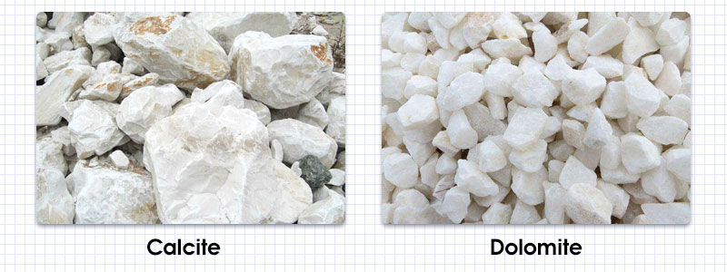 Used as the raw material of heavy calcium carbonate