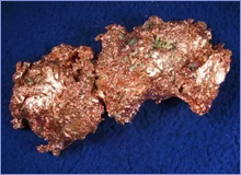 Natural copper