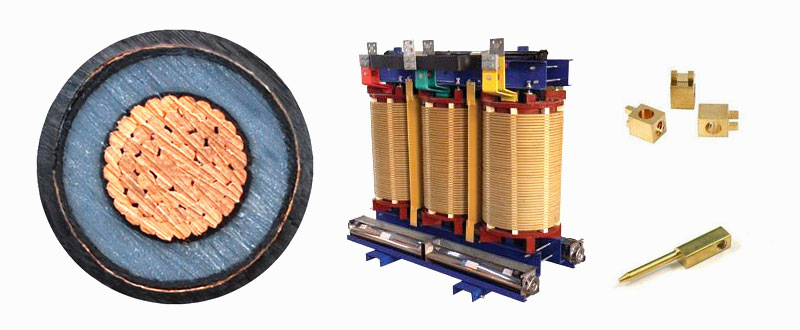 The energy-efficient copper winding transformer