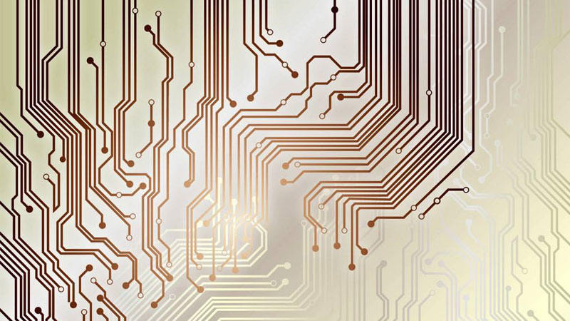 Copper used in printed circuit