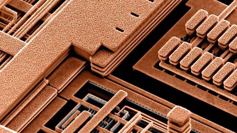The application of copper in integrated circuits