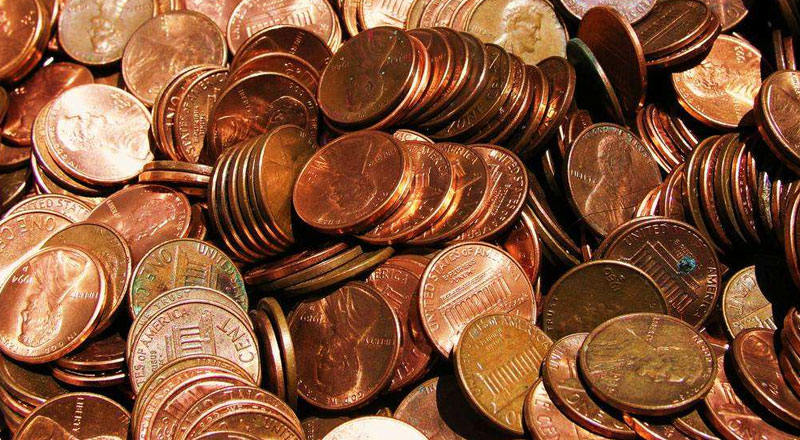 Copper coins