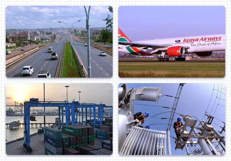Kenya's infrastructure and personal repairs