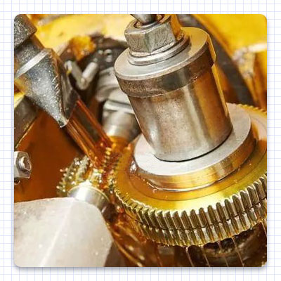 Proper lubricating oil is more effective