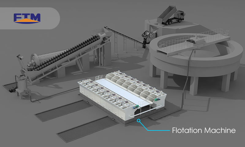 Fote flotation machine
