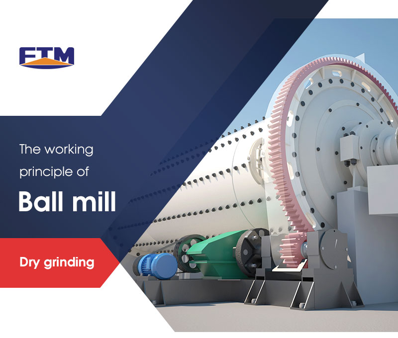 the working principle of ball mill