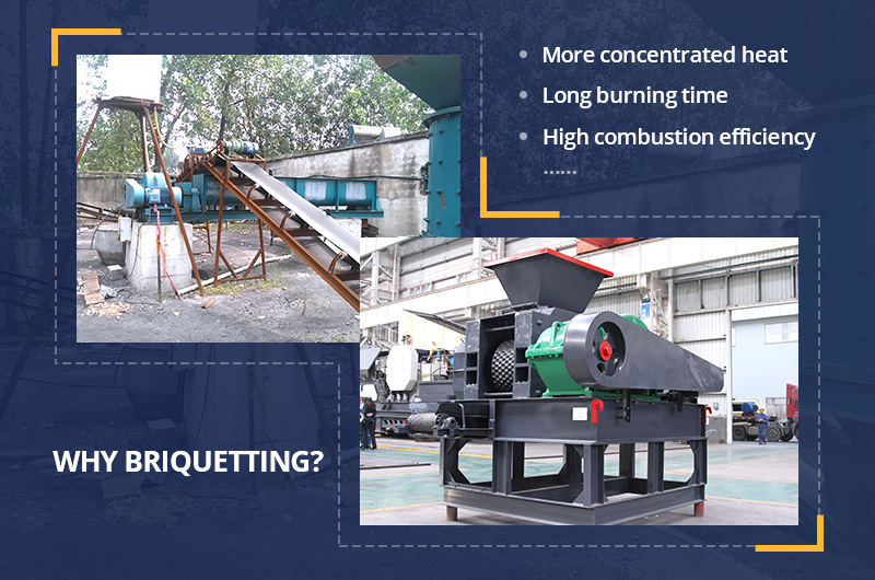 Advantages of briquette making