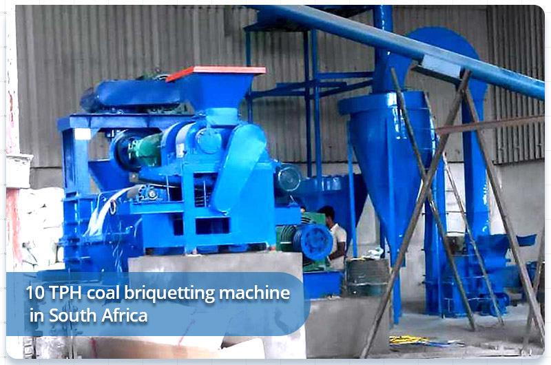 10 TPH coal briquetting machine in South Africa