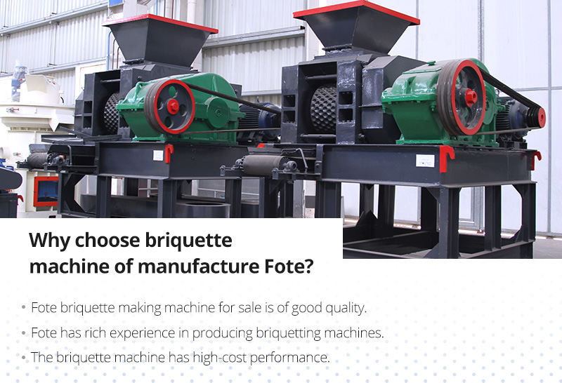 Briquette machine of manufacture Fote