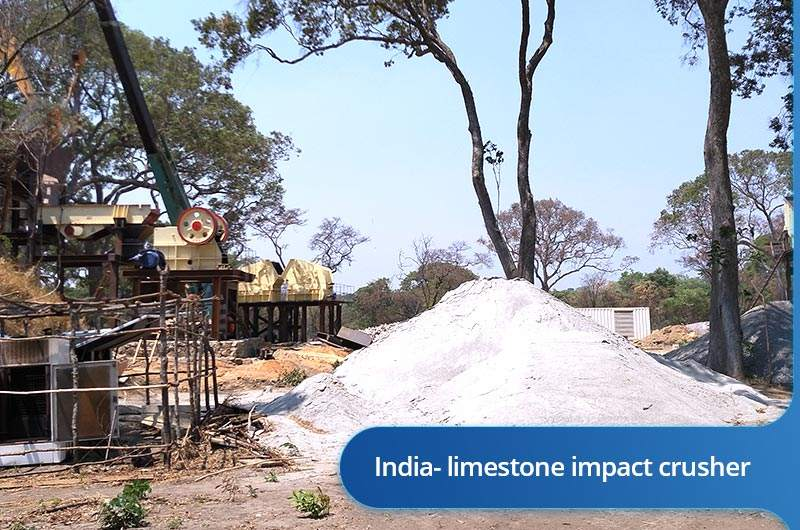 limestone impact crusher for sale in India