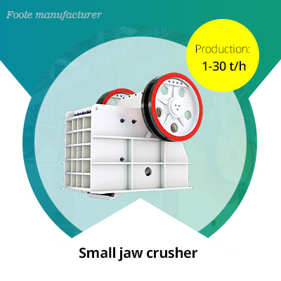 small concrete jaw crusher