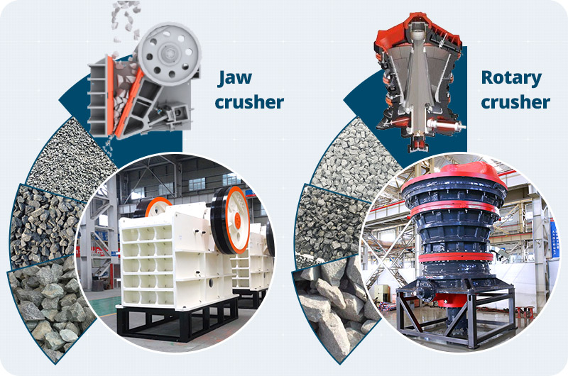 picture of jaw crusher and gyratory crusher