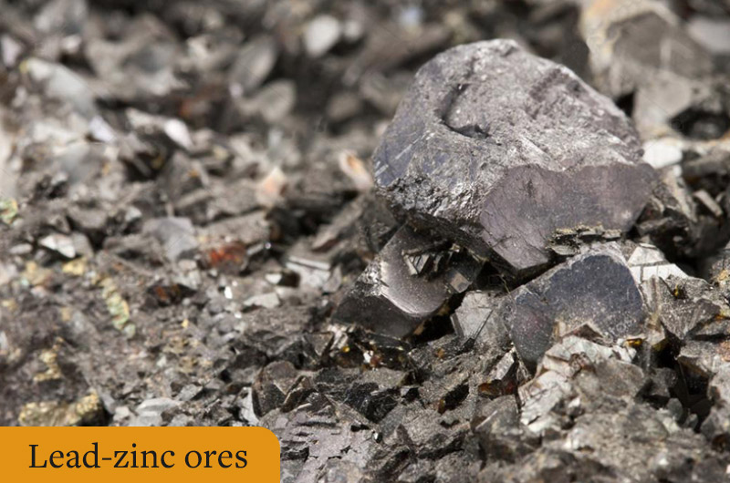 Lead-zinc ore: a mineral resource rich in lead and zinc