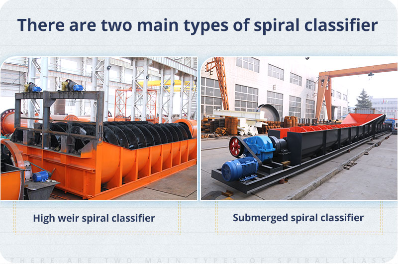 Two types of spiral classifiers