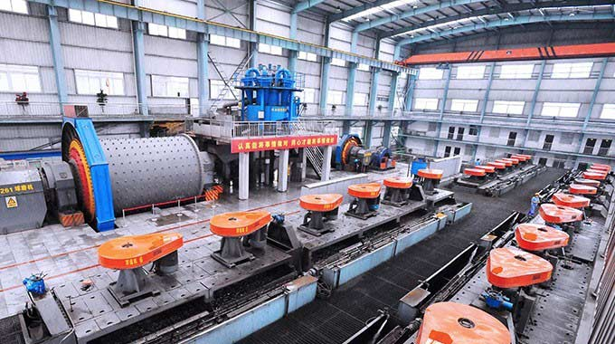 Copper Ore Processing Plant